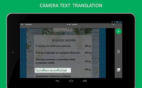 screenshot of Online–Translator.com Free Translator & Dictionary version Varies with device