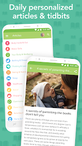 screenshot of Ovia Parenting: Baby Tracker, Breastfeeding Timer version 1.6.9