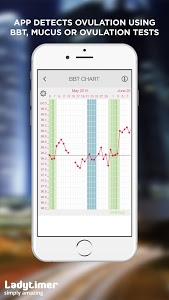 screenshot of Ladytimer Ovulation & Period Calendar version Varies with device