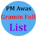 PM Awas Gramin Full List