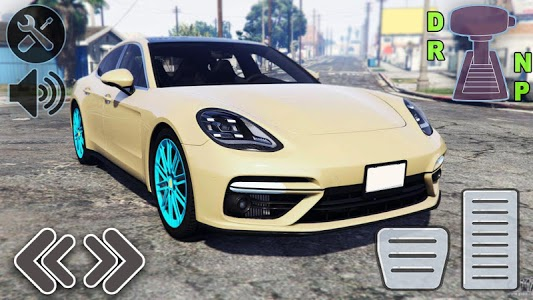 screenshot of Panamera Sport Car Driving City Drift version 1.0
