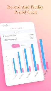screenshot of Period Tracker Petal, Period & Ovulation Calendar version 1.1.2