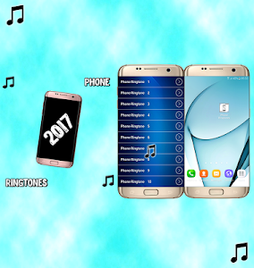 screenshot of phone ringtones 2017 version 1.0