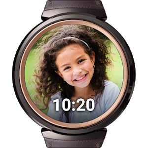 screenshot of PhotoWear Photo Watch Face version 4.4.88
