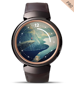 screenshot of Photo Wear Android Watch Face version Varies with device