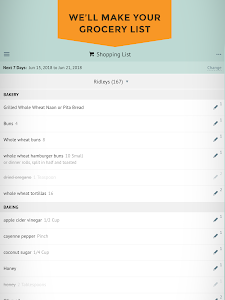screenshot of Plan to Eat : Meal Planner & Grocery List Maker version 2.0.12