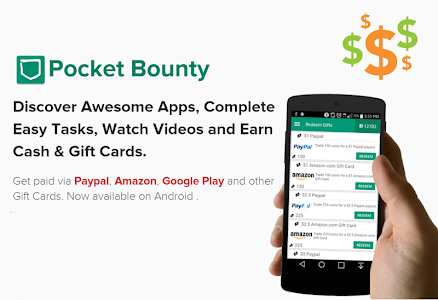 screenshot of PocketBounty - Free Gift Cards version 2.45