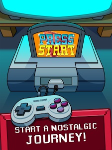 screenshot of Press Start - Game Nostalgia Clicker version 1.0.3
