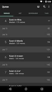 screenshot of Quran for Android version 2.9.2-p3