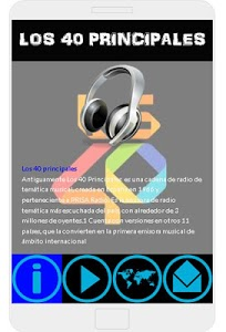 screenshot of Radio FM Simple 40 PRINCIPALES ESPAÑA version 6.0.0