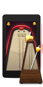 screenshot of Real Metronome for Guitar, Drums & Piano for Free version 1.7.5