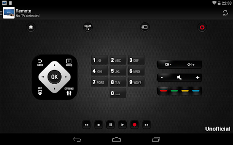 screenshot of Remote for Philips TV version 4.6.1