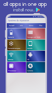 screenshot of Repair System for Android (Quick Fix Problems) version LLC02004.01WE