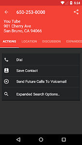screenshot of Reverse Lookup - Caller ID and Spam Block version 3.4.4.8
