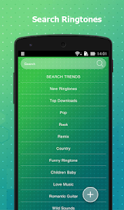screenshot of Ringtones Free For Android version Varies with device