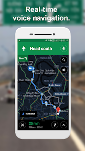 screenshot of Road Map - GPS Navigation & Route Finder version 1.2.5