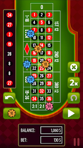 screenshot of Roulette Casino Vegas version 1.0.21