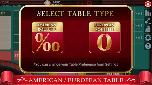 screenshot of Roulette Royale - FREE Casino version 19.2
