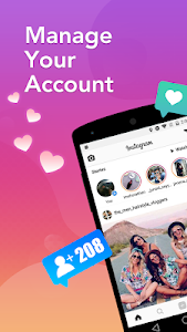 screenshot of Royal Followers Pro Instagram version 1.1