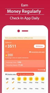screenshot of Roz Dhan - Earn Money, Paytm Cash, Video & Article version 2.0.9