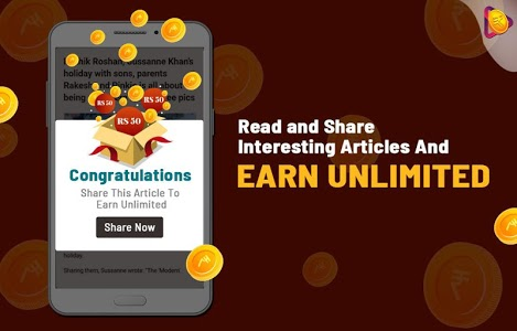 screenshot of Roz Dhan: Earn Money, Read News, and Play Games version 2.5.2