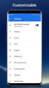screenshot of SO S10 Launcher for Galaxy S, S10/S9/S8 Theme version 5.9