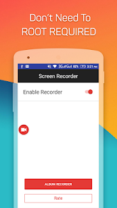 screenshot of Screen Recorder version 1.0