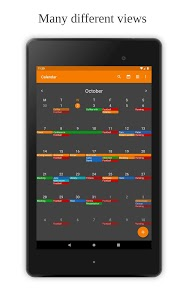 screenshot of Simple Calendar - Easy Events & Reminders Manager version 5.2.0