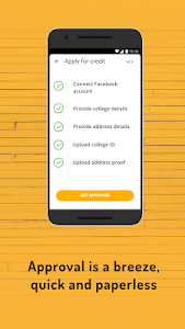 screenshot of SlicePay - Buy Now Pay Later for College Students version 3.37.7