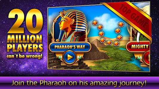 screenshot of Slots - Pharaoh's Fire version 3.12.1