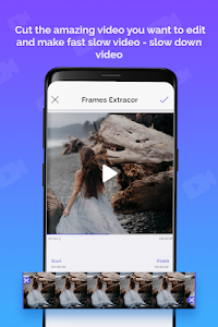 screenshot of Slow Motion Video Editor: Fast, Slow-motion Video version 1.0.4