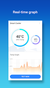 screenshot of Smart Cooler - Phone Cooler & CPU Temp Controller version 1.1.0