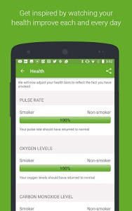 screenshot of Smoke Free, quit smoking now and stop for good version Varies with device