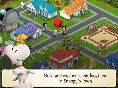 screenshot of Snoopy's Town Tale - City Building Simulator version 3.4.3