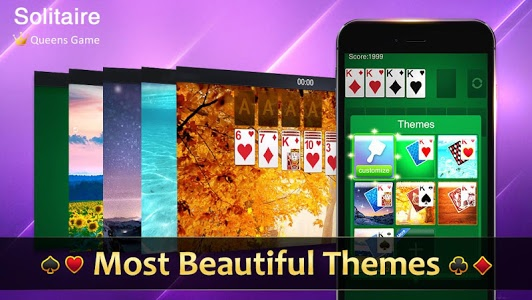 screenshot of Classic Solitaire version 2.9.505