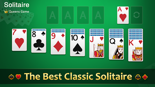 screenshot of Classic Solitaire version 2.9.499