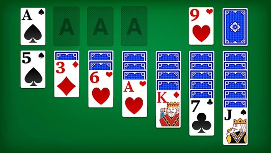 screenshot of Solitaire Classic version 2.290.0