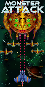 screenshot of Space Shooter: Monsters Attack version 0.3