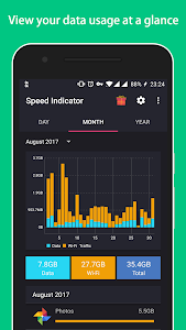 screenshot of Speed Indicator Free version 1.3.4.264