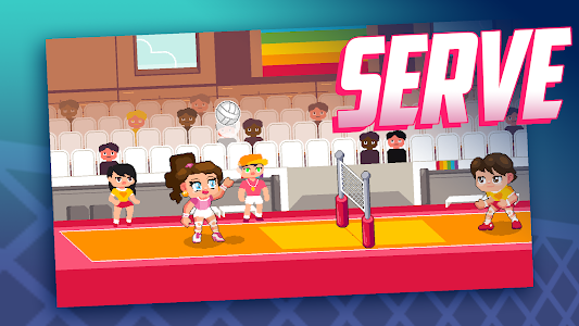 screenshot of Spikes on High Heels - Drag Queen Volleyball Game version 1.10