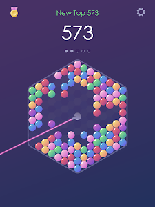 screenshot of Spin Bubble Shoooter version 1.1.0