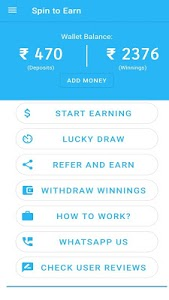 screenshot of Spin & Earn daily 100-500 rs version 1.2