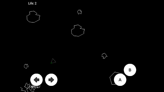 screenshot of Stand Of Asteroids version 1.0.0