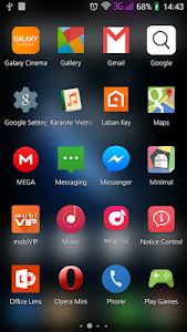 screenshot of Star Material Icon Pack version 1.0.7
