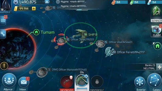 screenshot of Star Trek™ Fleet Command version 0.613.02749