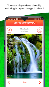 screenshot of Status Saver for WhatsApp & Status Downloader version 1.23