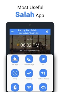 screenshot of Step By Step Salah - Namaz version 2.9
