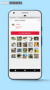 screenshot of Sticker ANJING for WhatsApp | WAstickerApps version 2.0