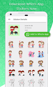 screenshot of STICKERS FOR WHATSAPP - WAStickerApps version 29