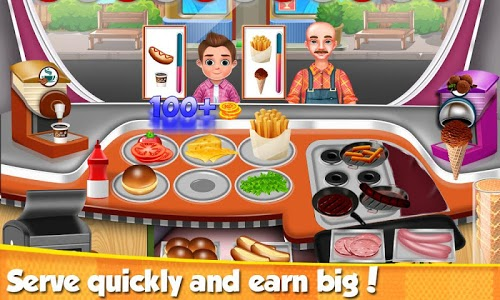 screenshot of Street Chef Food - Cooking Game version 1.1